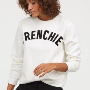 H&M Frenchie Sweatshirt